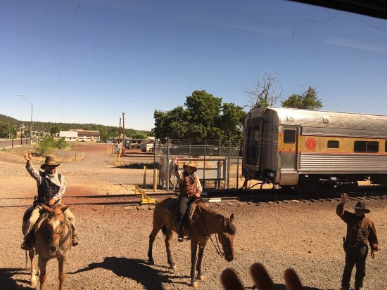 Williams, AZ: Railroad trip ��