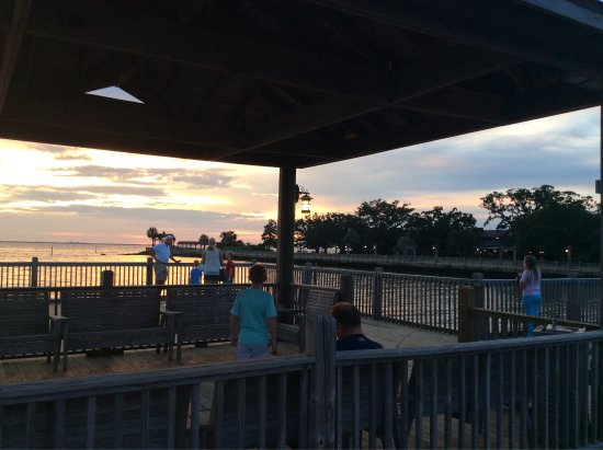 Point Clear, AL: Heavenly views from the fishing pier