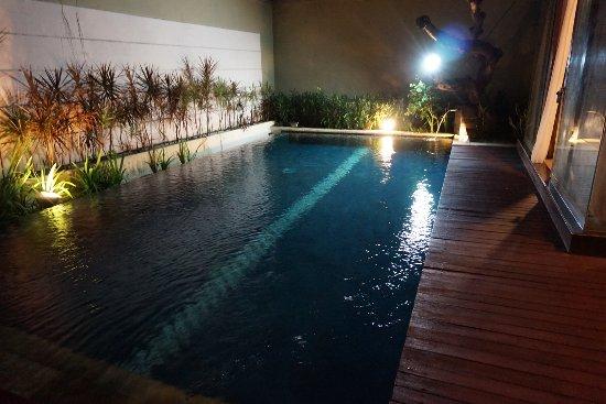 Bali Swiss Villa: いつでも好きな時にプールにはいれるのは快適です