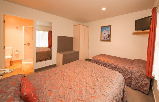 Whanganui, New Zealand: ! bedroom unit with extra single bed