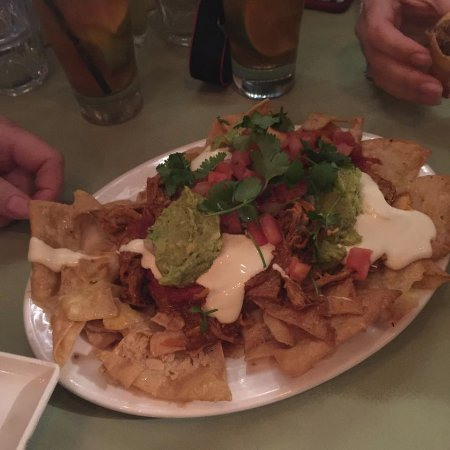 Miss Margarita: Pork nachos