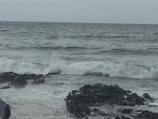 Retiro Beach (dos Ingleses): estava nublado neste dia...