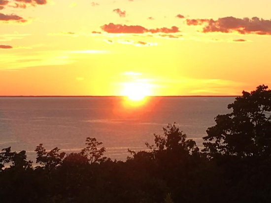 Egg Harbor, WI: view from Patio King