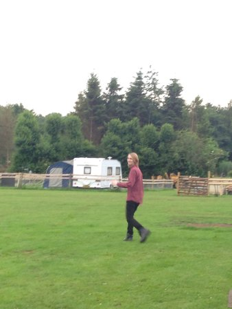 Turnditch, UK: Blackbrook Lodge Caravan & Camp Site