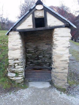 Arrowtown, Νέα Ζηλανδία: Toilet