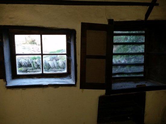 Arrowtown, Νέα Ζηλανδία: Bedroom window