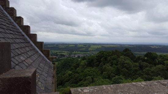 Dollar, UK: Castle Campbell roof