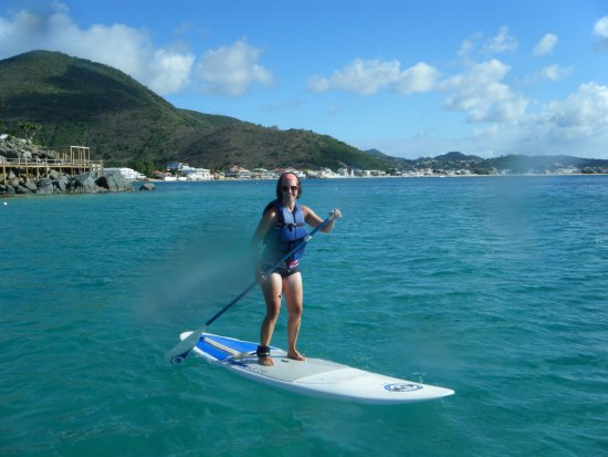 Grand Case Beach Club: Stand Up Paddleboarding