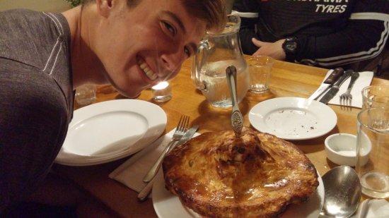 Great Queen Street: Meat Pie - Amazing!
