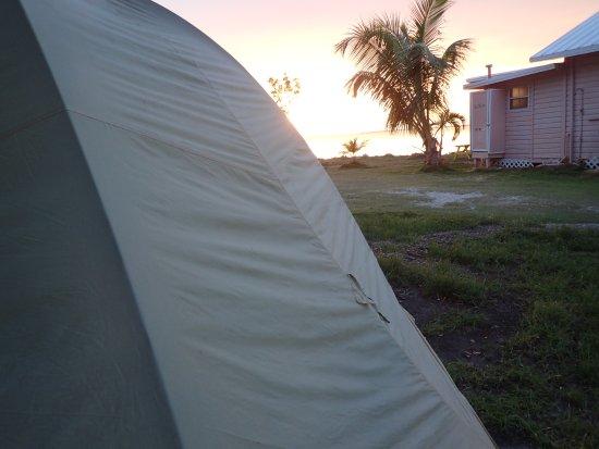 """Kings Kamp: """"room as in tent site"""""""