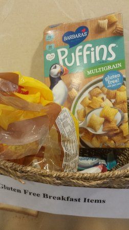 Lehighton, PA: Gluten-free breakfast items