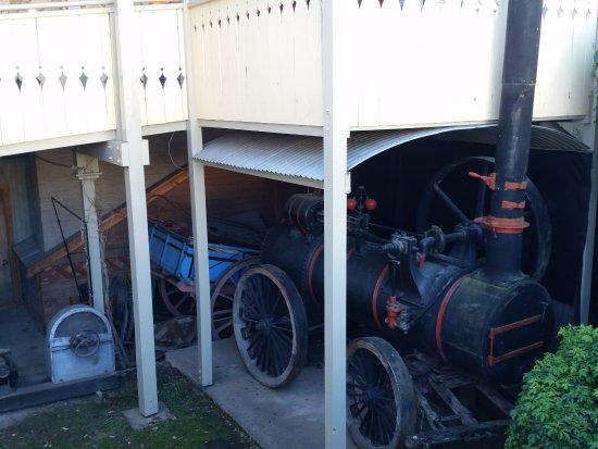 Arrowtown, New Zealand: Under the entrance deck
