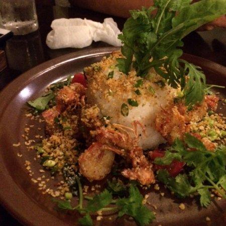 Sangosho: Fried shirimp
