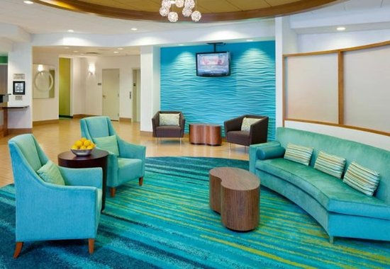 SpringHill Suites Frankenmuth: Lobby