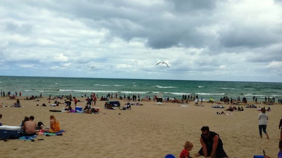 Chesterton, IN: Lake Michigan Was Angry This Day