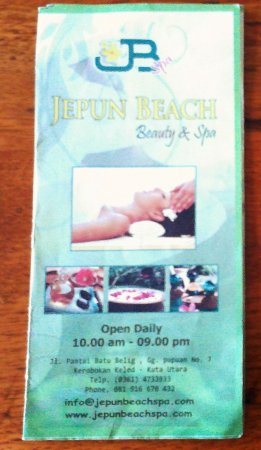 Jepun Beach Beauty and Spa
