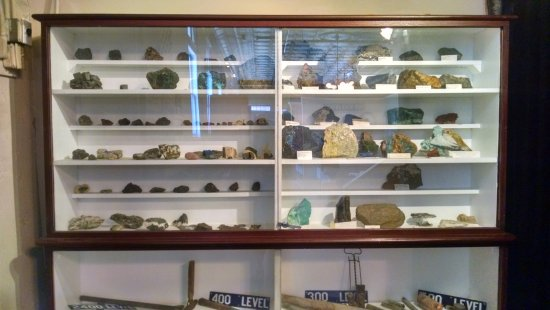Artifacts in Jerome Mining Museum