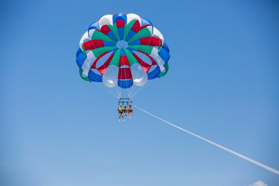Parasailing Professionals: Parasailing in the Grand Caymans.