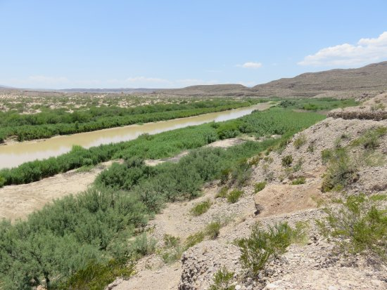 Alpine, TX: The Rio Grande River.