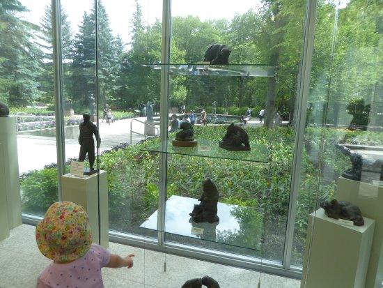 Small Working Models Picture Of Leo Mol Sculpture Garden