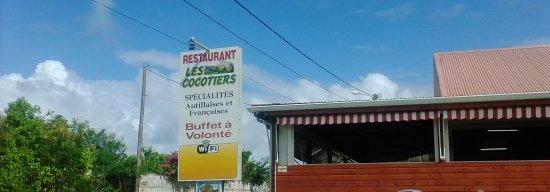 Trois Rivieres, Guadalupe: restaurant