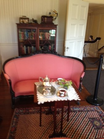 The sitting room at Hildene - Picture of Hildene, The Lincoln Family ...