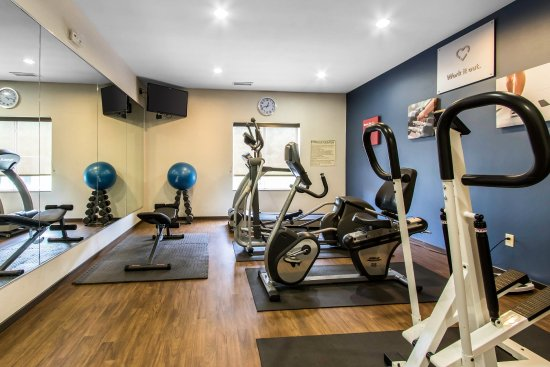 Comfort Suites Mount Vernon: Fitness Center