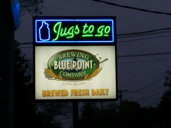 Patchogue, estado de Nueva York: Blue Point Brewery