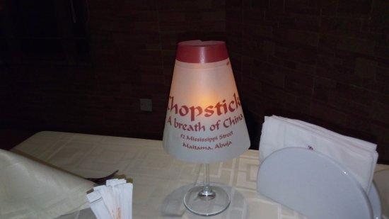 Chopsticks: Candle light