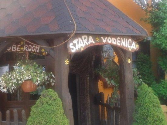 Stara vodenica: The entrance