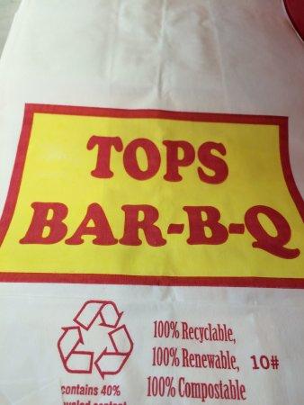 Tops Bar-B-Q, Memphis - 1286 Union Ave, Midtown - Menu ...