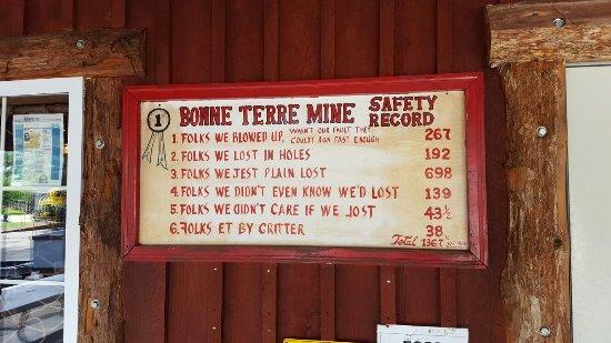 Bonne Terre Mine Tours - West End Diving
