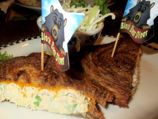 Tuna Melt, Black Bear Diner, Milpitas, CA
