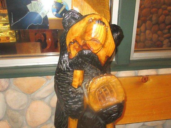 Cute Bear, Black Bear Diner, Milpitas, CA