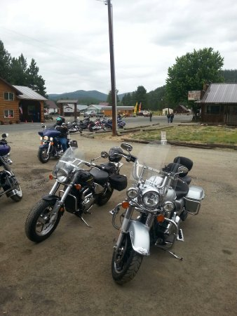 Sumpter, ออริกอน: Hells canyon bike rally at the Elkhorn 2016!!!