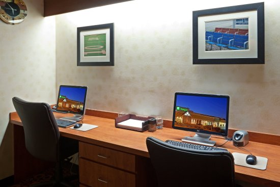 Mansfield, MA: 24 hour business center with Color printer