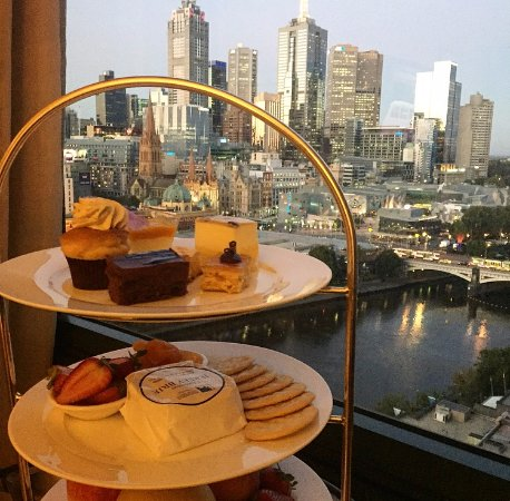 The Langham, Melbourne: high tea