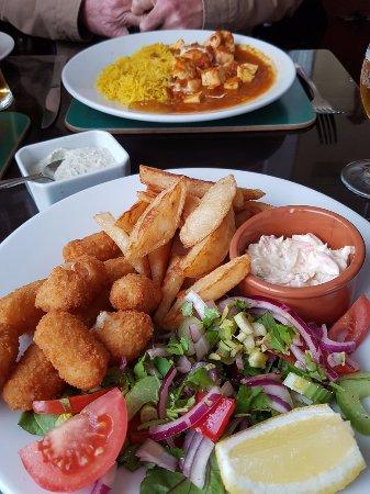 Dinner at the Cobbled Yard Hotel, Berwick upon Tweed