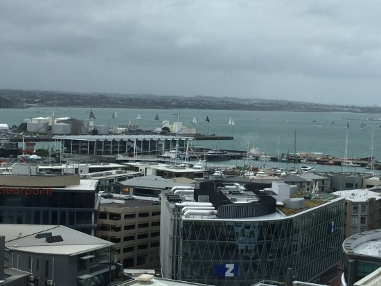 Heritage Auckland: view from room