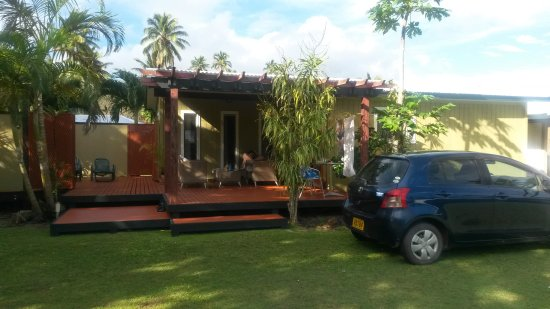 Aroa Beach, Islas Cook: Accomodation