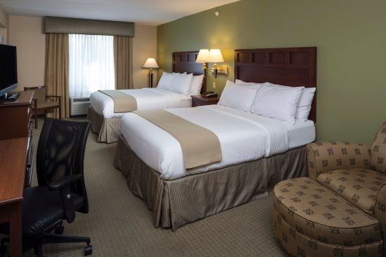 Holiday Inn Express Hotel & Suites Brevard: Double Bed Guest Room