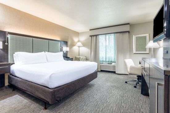 Auburn, CA: King bedded guest room ADA accessible