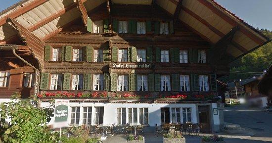 Boltigen, Suiza: restaurant Simmental