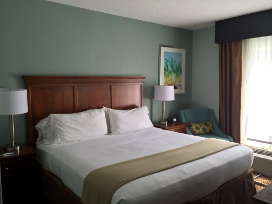 Holiday Inn Express Braselton : King Bed Guest Room