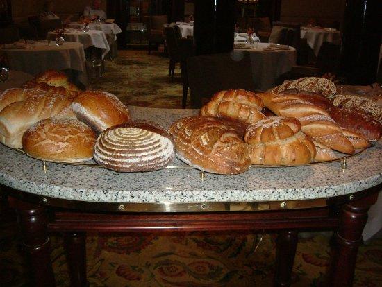 Simon Radley at The Chester Grosvenor: Bread Trolley - Nine choices baked daily