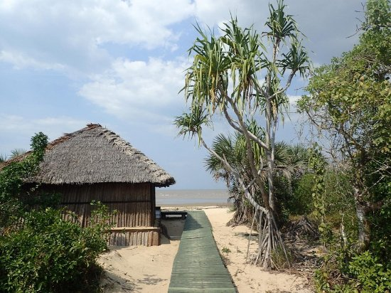 Saadani National Park, แทนซาเนีย: Walkways to the main lodge, dining and each of the bungalows