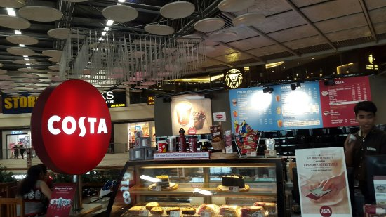 Costa: Counter view