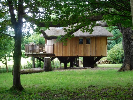 Buckerell, UK: Private lodge