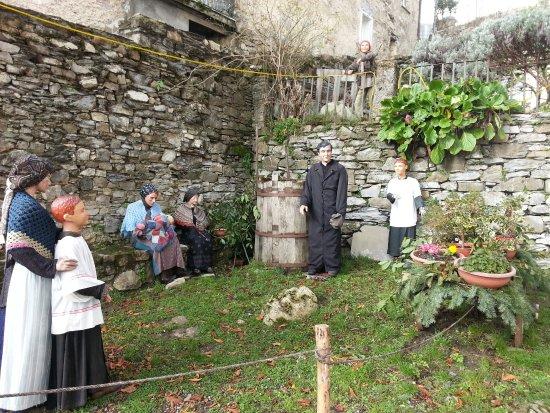 Torriglia, Italy: Ricostruzione scene di vita della fine del XIX secolo
