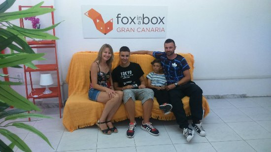 Fox in a Box Gran Canaria